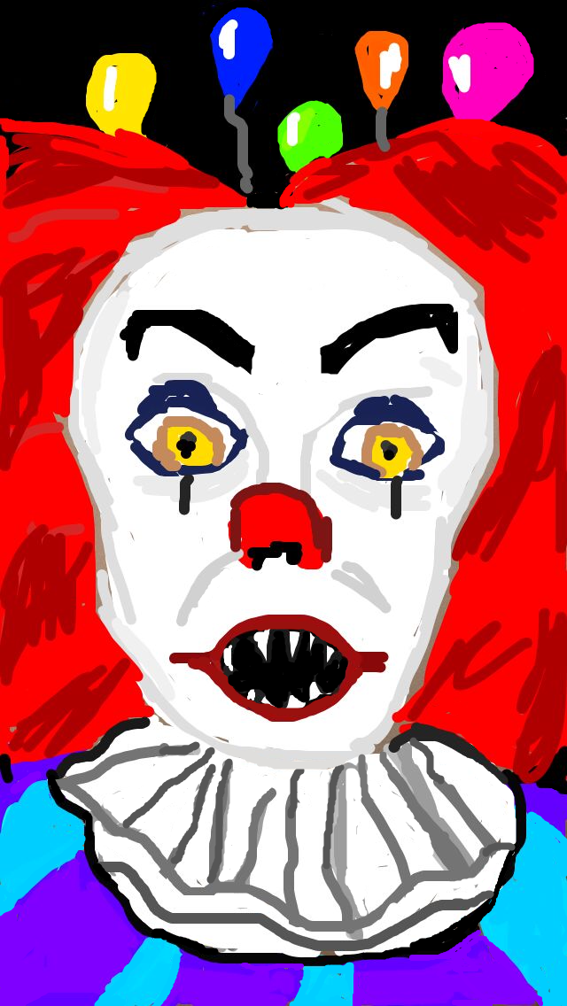 Snapchat Horrors: Pennywise The Dancing Clown- Stephen King's IT