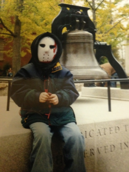 Me Age 5- The people of Salem, MA treated me like a celebrity.